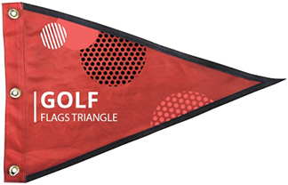 Golf Flags – Triangle